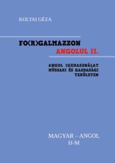 FO(R)GALMAZZON ANGOLUL - II. kötet H-M-0