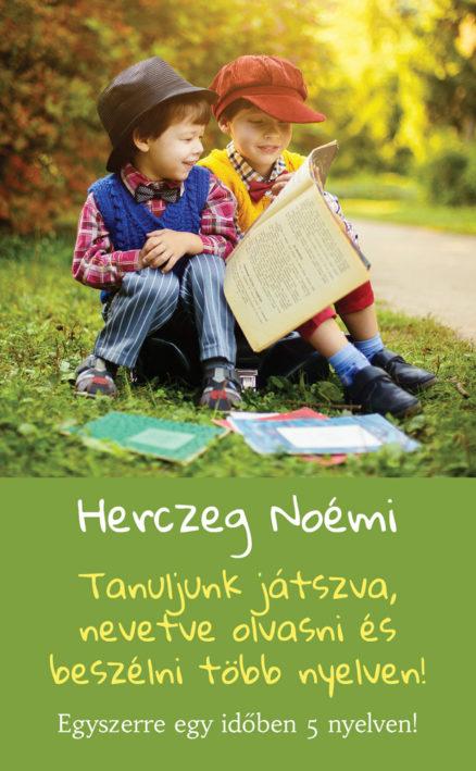 Tanuljunk játszva, nevetve olvasni és beszélni több nyelven! Egyszerre egy időben 5 nyelven!-0